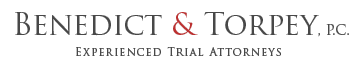 georgia lawyers benedict and torpey logo